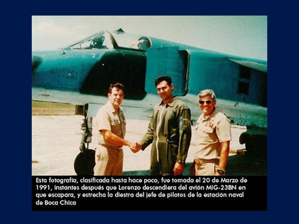 El 20 de marzo de 1991 despegaba de suelo cubano el mayor Orestes Lorenzo en un caza MIG-23, el avión más moderno de la Fuerza Aérea Cubana.