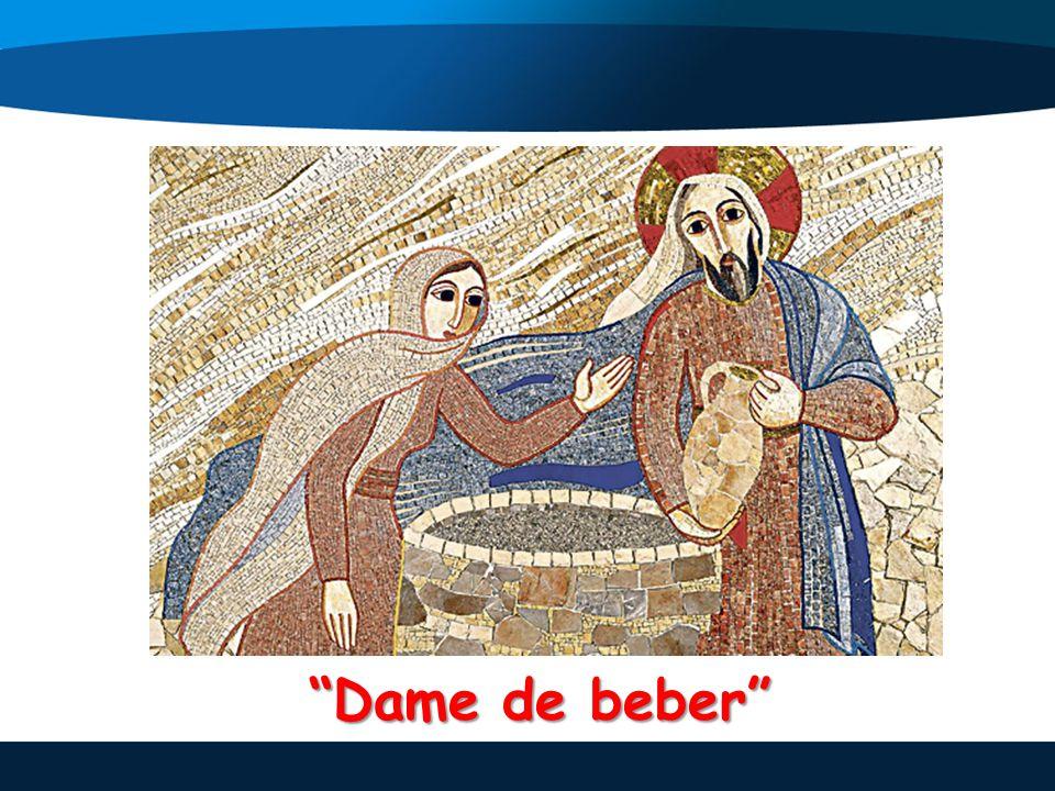 Jesús no se deja condicionar por ningún tipo de barrera y entabla un diálogo con la extranjera.