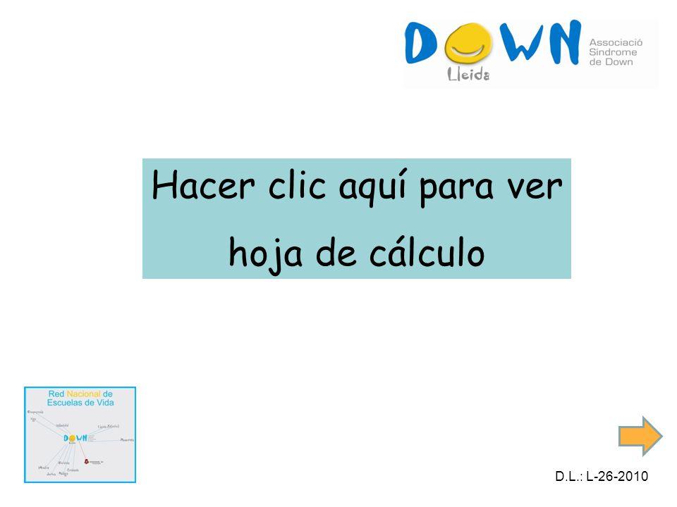 Hacer clic aquí para ver hoja de cálculo D.L.: L-26-2010