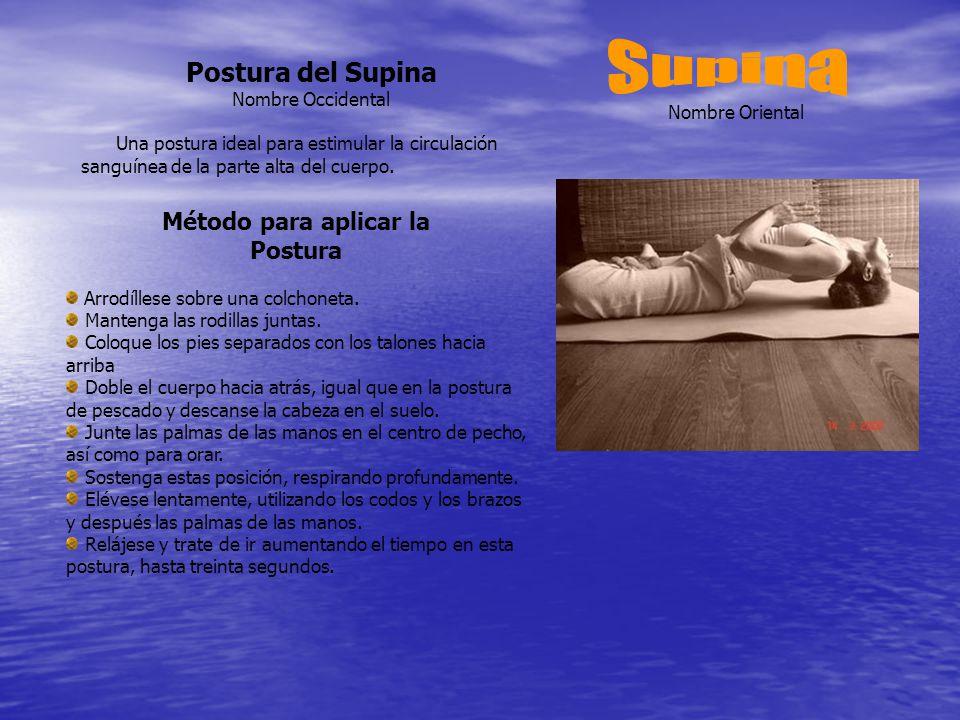 Método para aplicar la Postura Arrodíllese sobre una colchoneta.