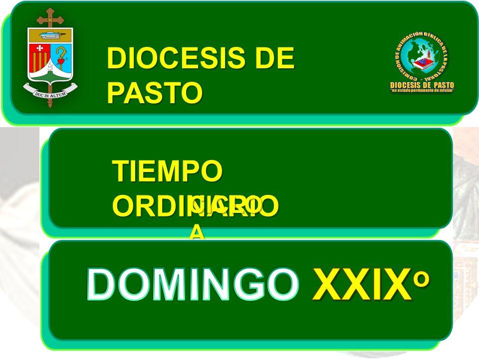 DIOCESIS DE PASTO TIEMPO ORDINARIO CICLO A