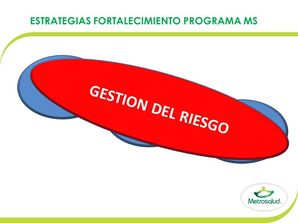 ESTRATEGIAS FORTALECIMIENTO PROGRAMA MS PRIMER NIVEL DE ATENCION FORTALECER PROGRAMA DE MATERNIDAD SEGURA SEGUNDO NIVEL DE ATENCION GESTION DEL RIESGO