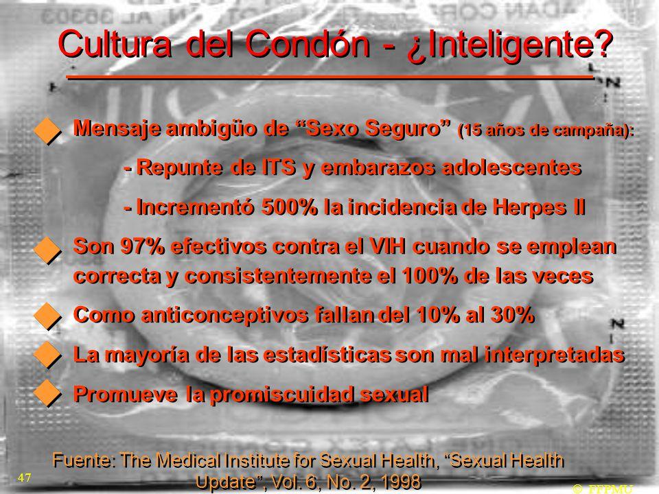 Cultura del Condón - ¿Inteligente.