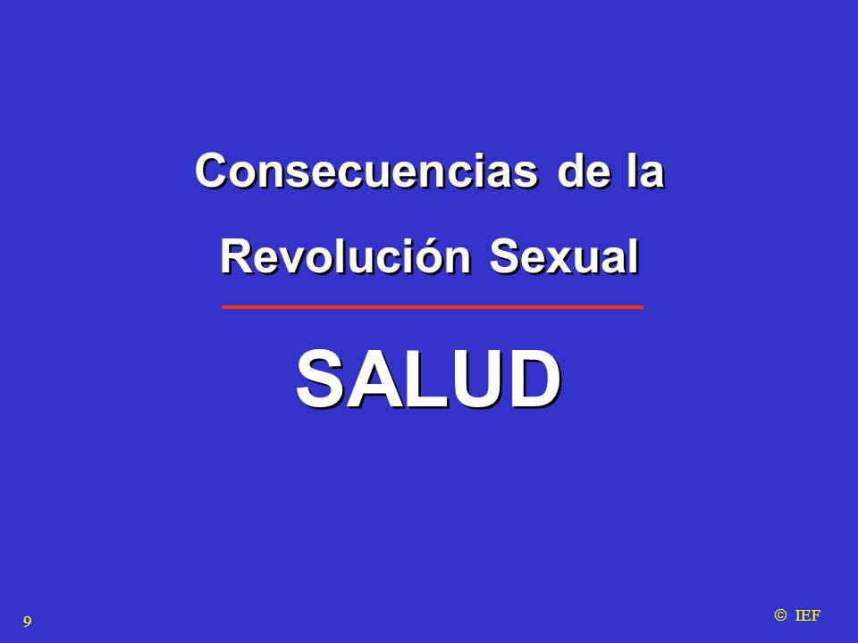 Consecuencias de la Revolución Sexual SALUD Consecuencias de la Revolución Sexual SALUD  IEF 9