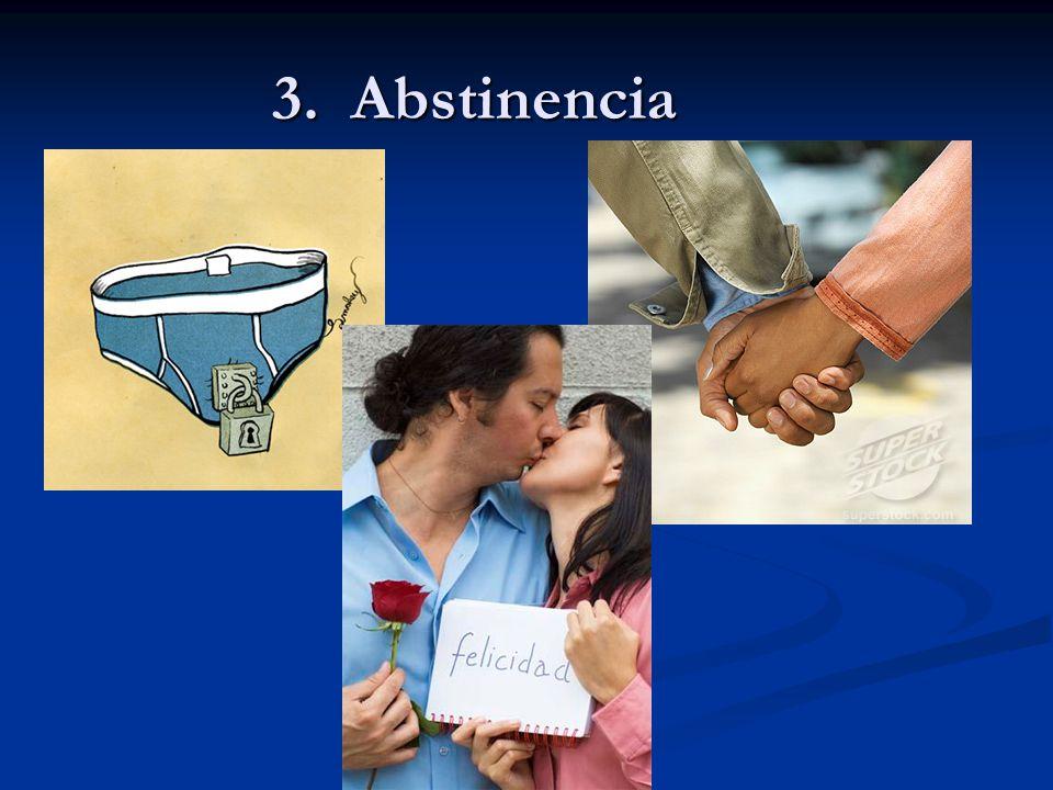 3. Abstinencia