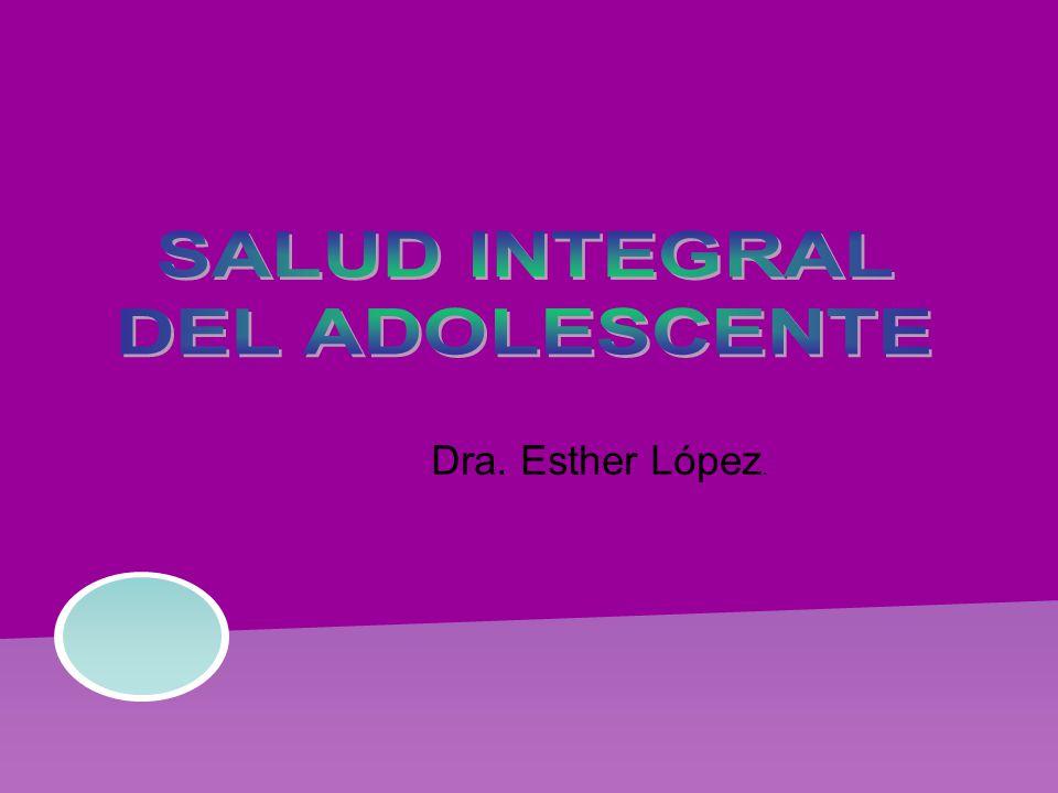 Dra. Esther López.
