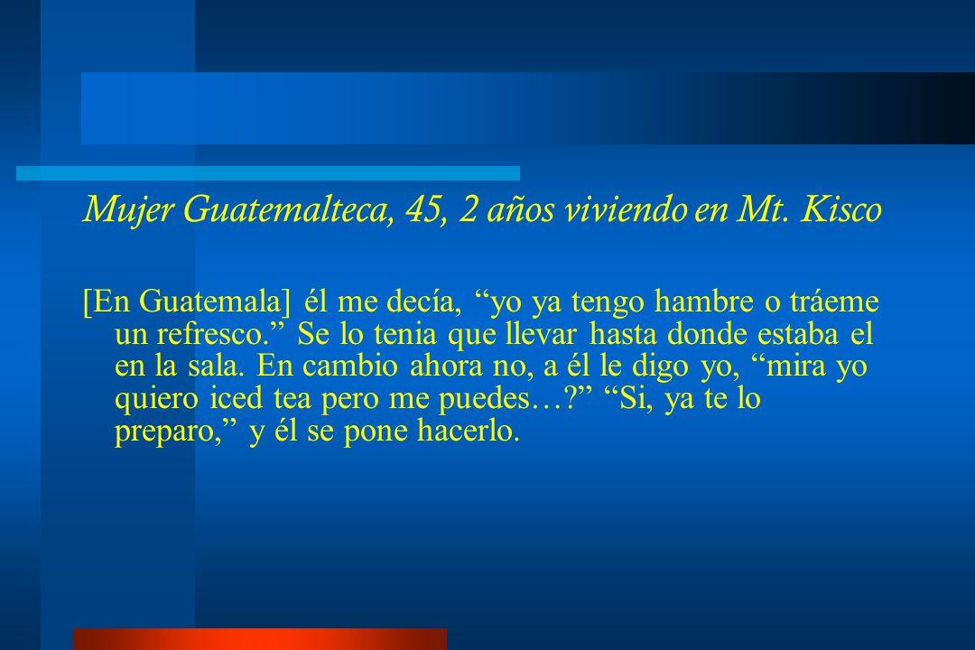 Mujer Guatemalteca, 45, 2 años viviendo en Mt.