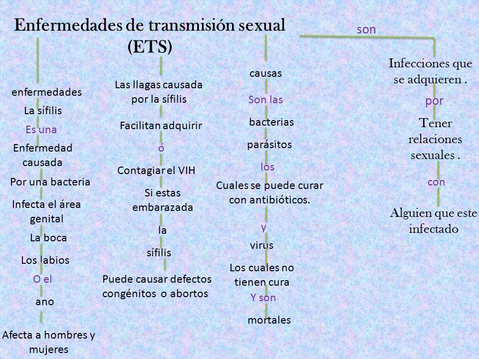  Es una enfermedad de transmisión sexual ocasionada por la bacteria Treponema pallidum.