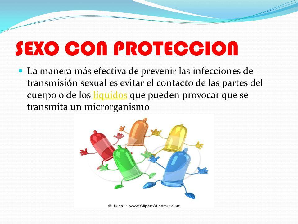 LOS PRESERBATIVOS Los preservativos o condones solamente proporcionan protección cuando se utilizan correctamente como barrera desde/hacia el área que cubrenpreservativos