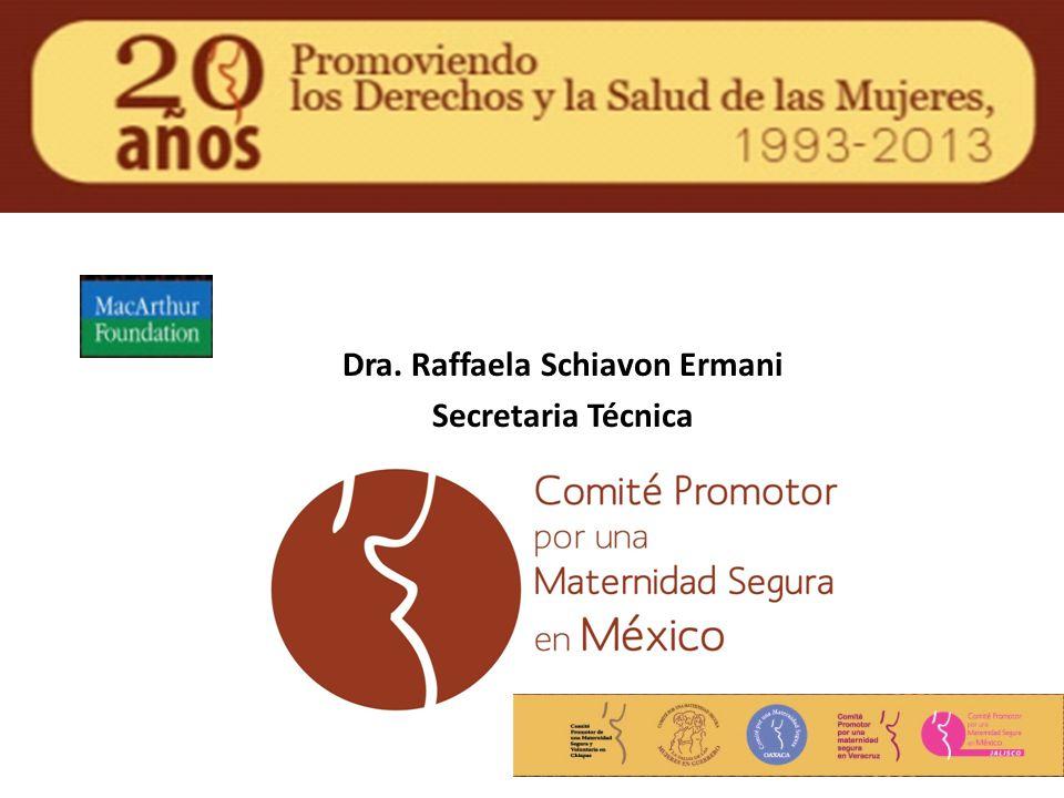 Dra. Raffaela Schiavon Ermani Secretaria Técnica