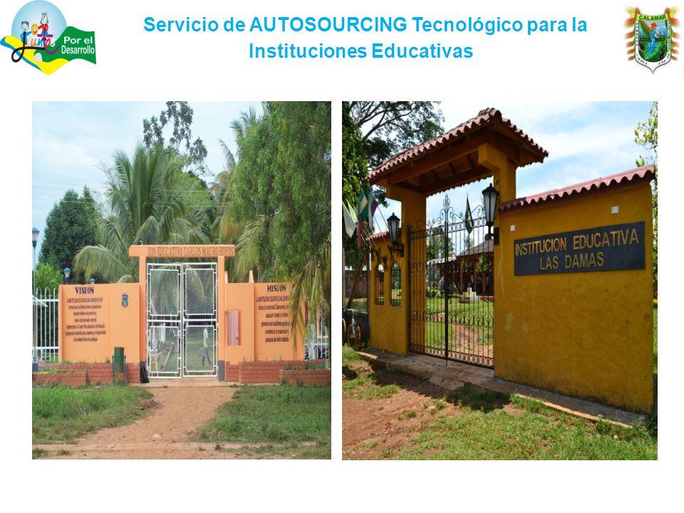Servicio de AUTOSOURCING Tecnológico para la Instituciones Educativas.