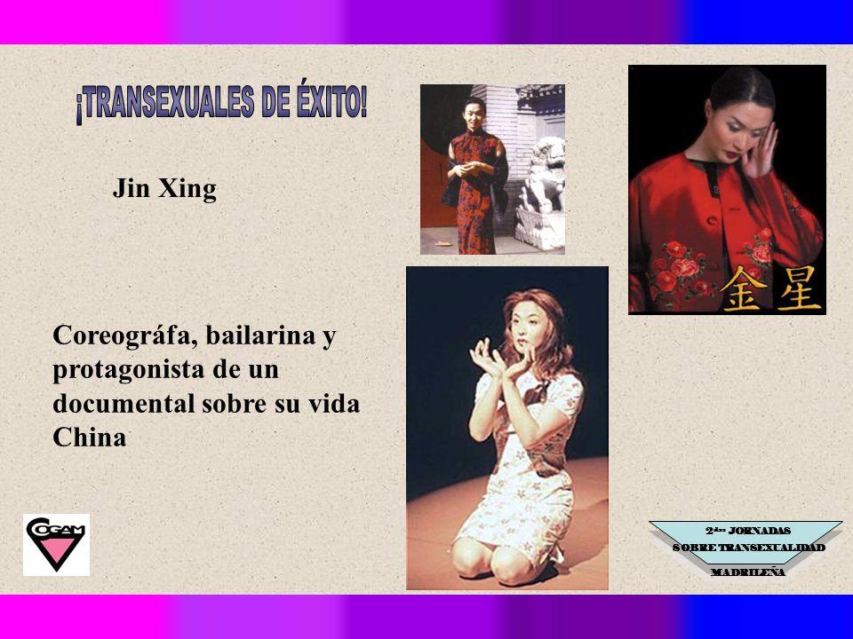 2 das JORNADAS SOBRE TRANSEXUALIDAD MADRILEÑA Jin Xing Coreográfa, bailarina y protagonista de un documental sobre su vida China