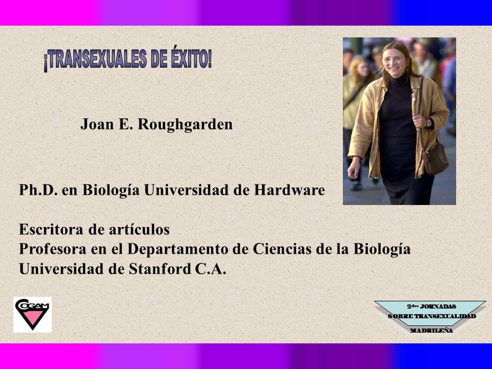2 das JORNADAS SOBRE TRANSEXUALIDAD MADRILEÑA Joan E.