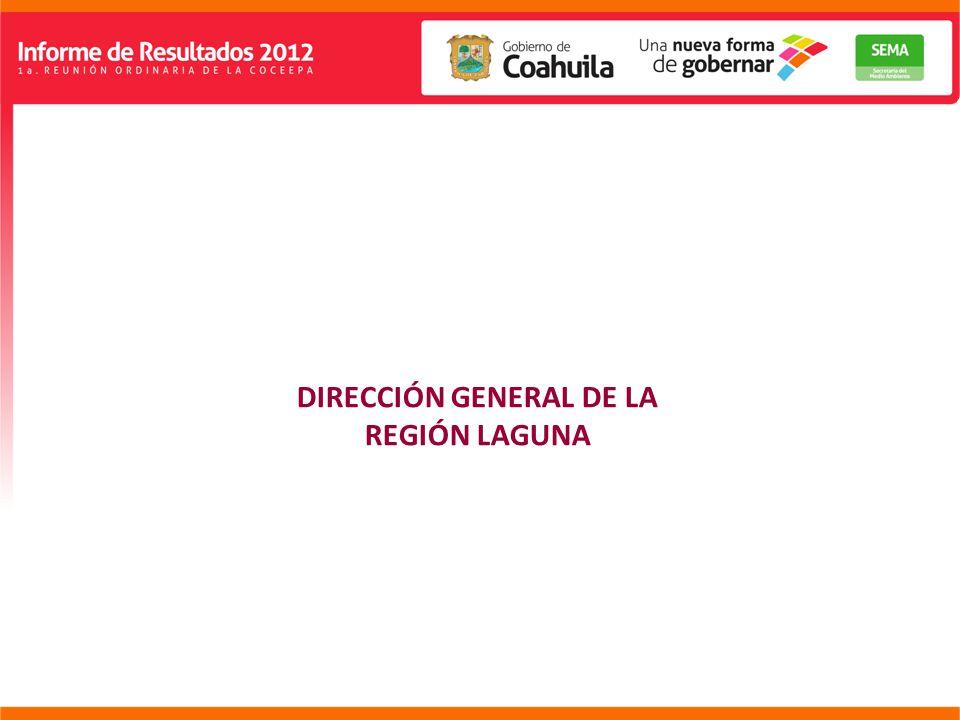 DIRECCIÓN GENERAL DE LA REGIÓN LAGUNA