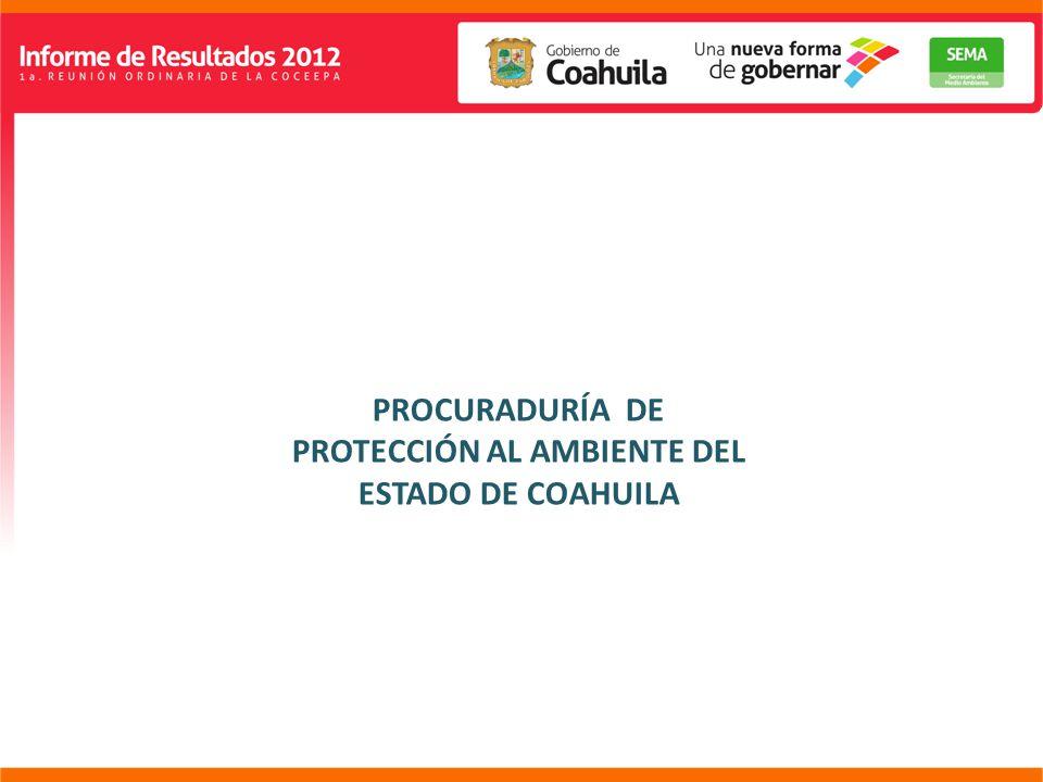 PROCURADURÍA DE PROTECCIÓN AL AMBIENTE DEL ESTADO DE COAHUILA