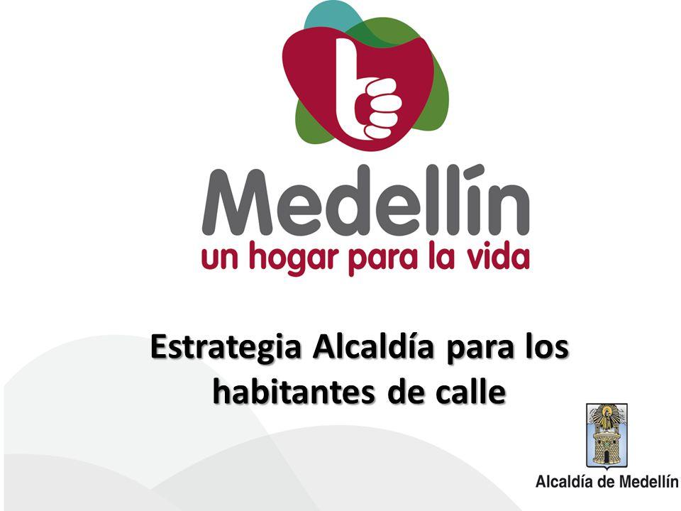 Estrategia Alcaldía para los habitantes de calle