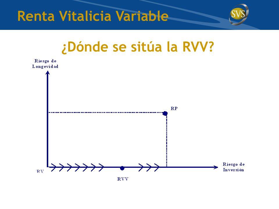 ¿Dónde se sitúa la RVV Renta Vitalicia Variable