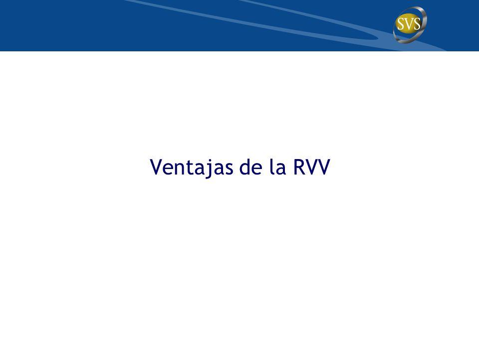 Ventajas de la RVV