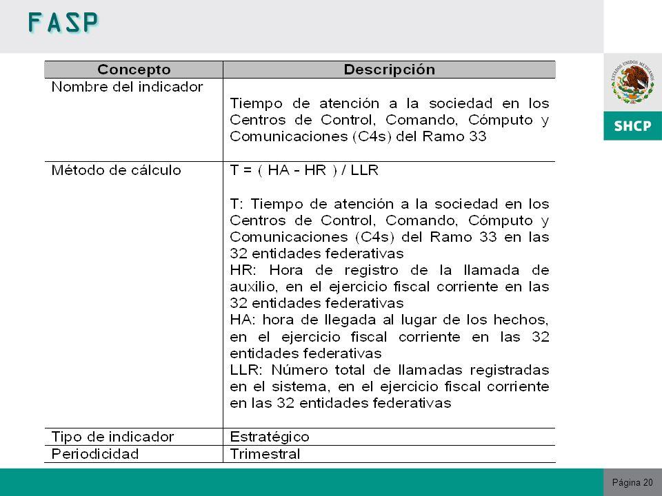 Página 20 FASPFASP
