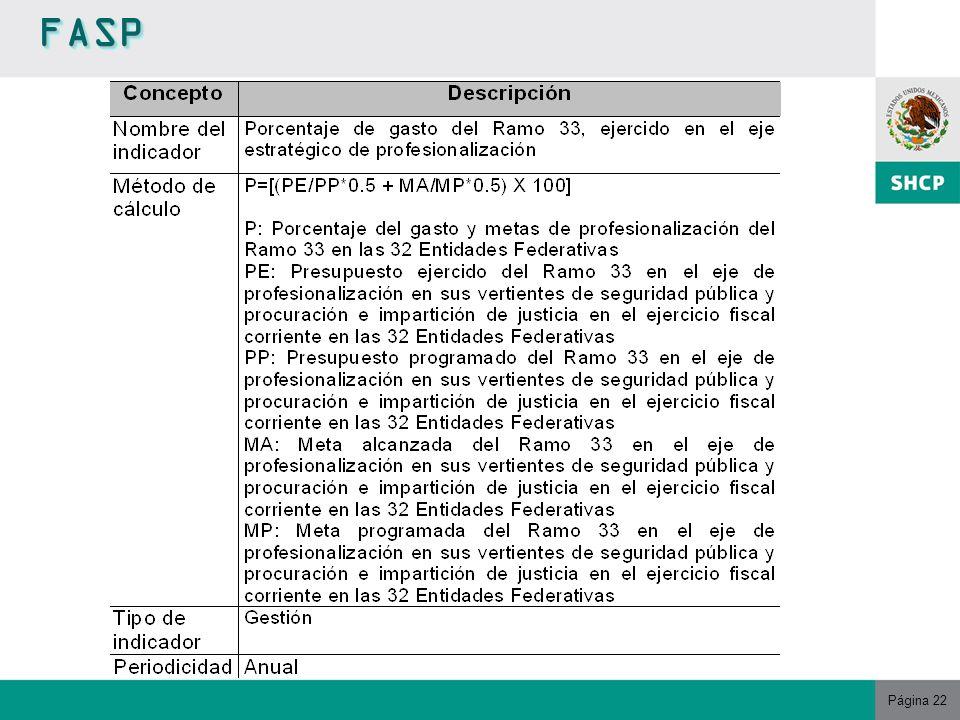 Página 22 FASPFASP