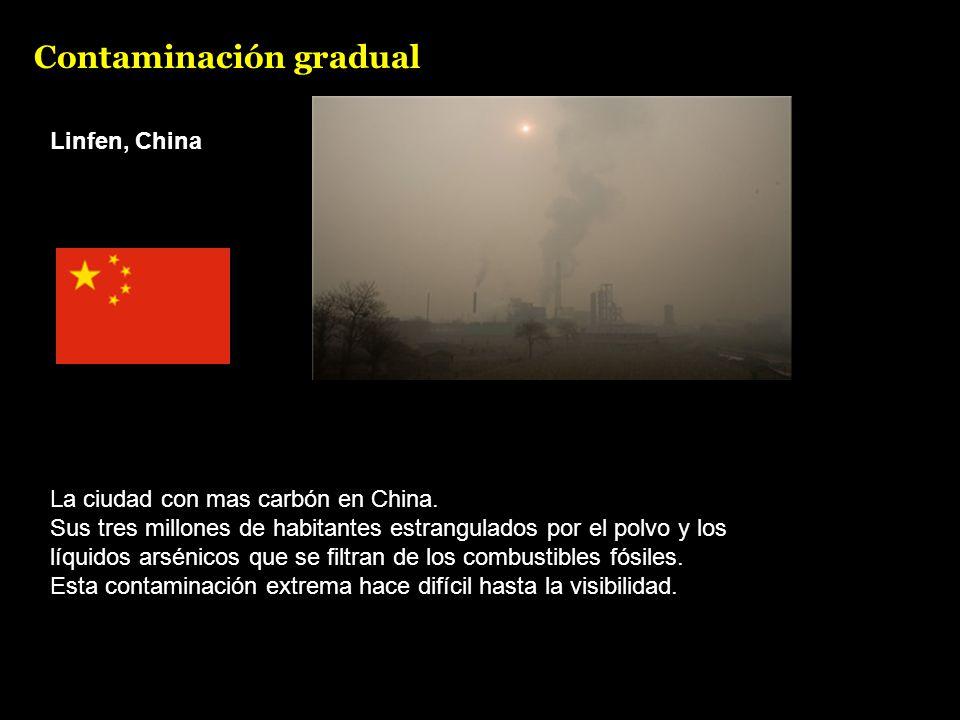 Linfen, China La ciudad con mas carbón en China.