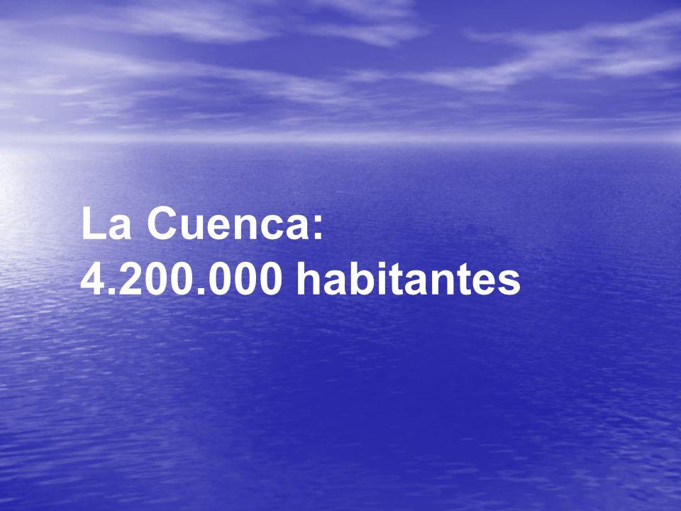 La Cuenca: 4.200.000 habitantes