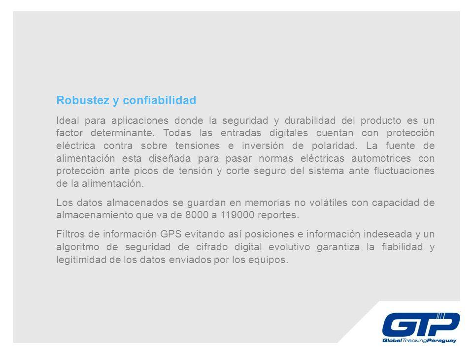 Robustez y confiabilidad Ideal para aplicaciones donde la seguridad y durabilidad del producto es un factor determinante.