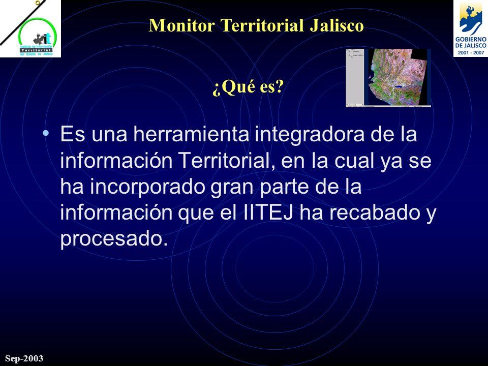 Sep-2003 ¿Qué es.