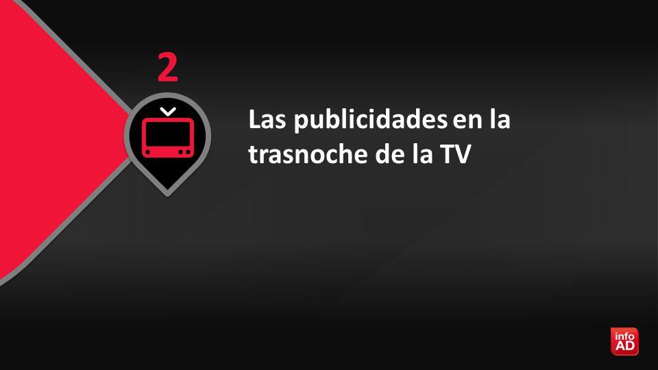Las publicidades en la trasnoche de la TV 2