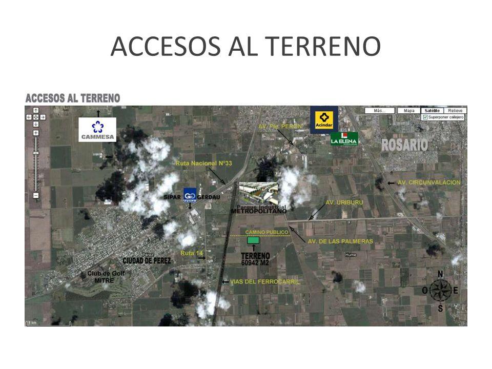 ACCESOS AL TERRENO