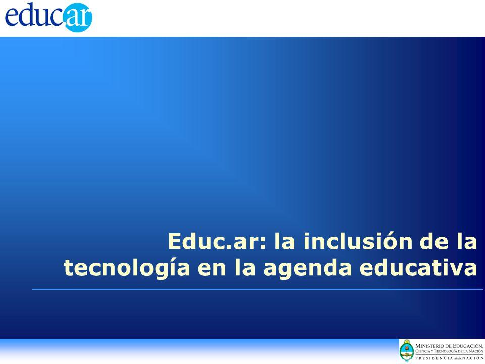 Educ.ar: la inclusión de la tecnología en la agenda educativa