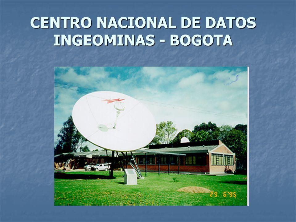 CENTRO NACIONAL DE DATOS INGEOMINAS - BOGOTA