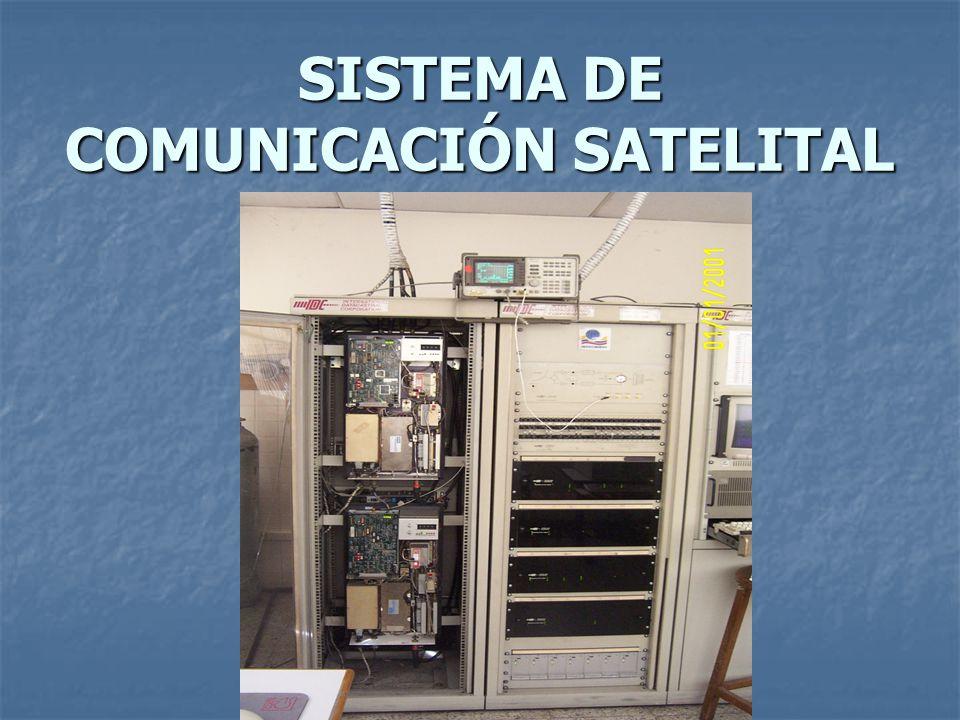 SISTEMA DE COMUNICACIÓN SATELITAL