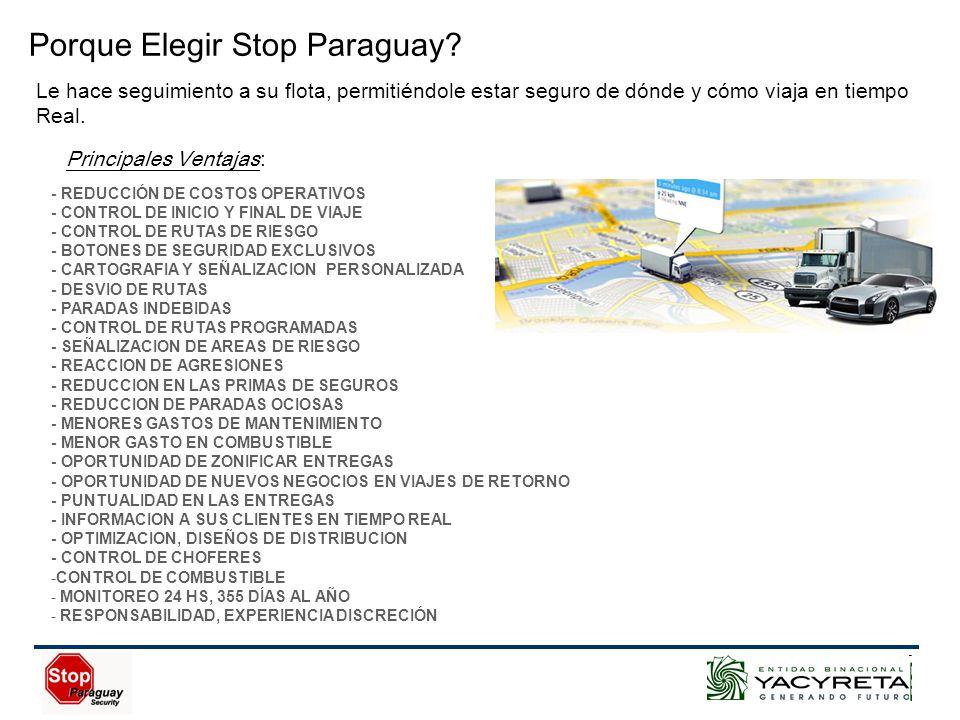 Porque Elegir Stop Paraguay.