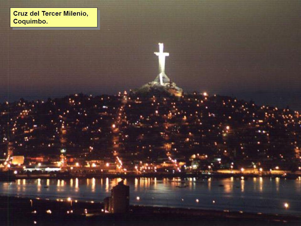 Tuesday, 7th March, 2002 IAUWG meeting, La Serena, Chile15 Cruz del Tercer Milenio, Coquimbo.