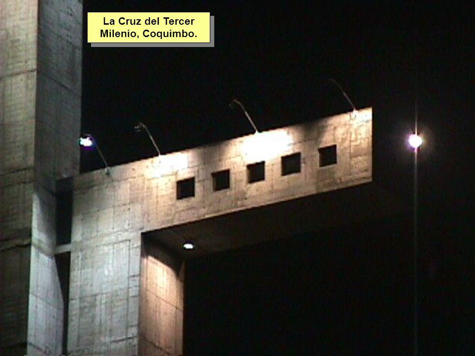 Tuesday, 7th March, 2002 IAUWG meeting, La Serena, Chile16 La Cruz del Tercer Milenio, Coquimbo.