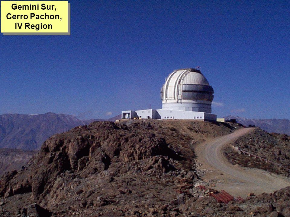 Tuesday, 7th March, 2002 IAUWG meeting, La Serena, Chile62 Gemini Sur, Cerro Pachon, IV Region