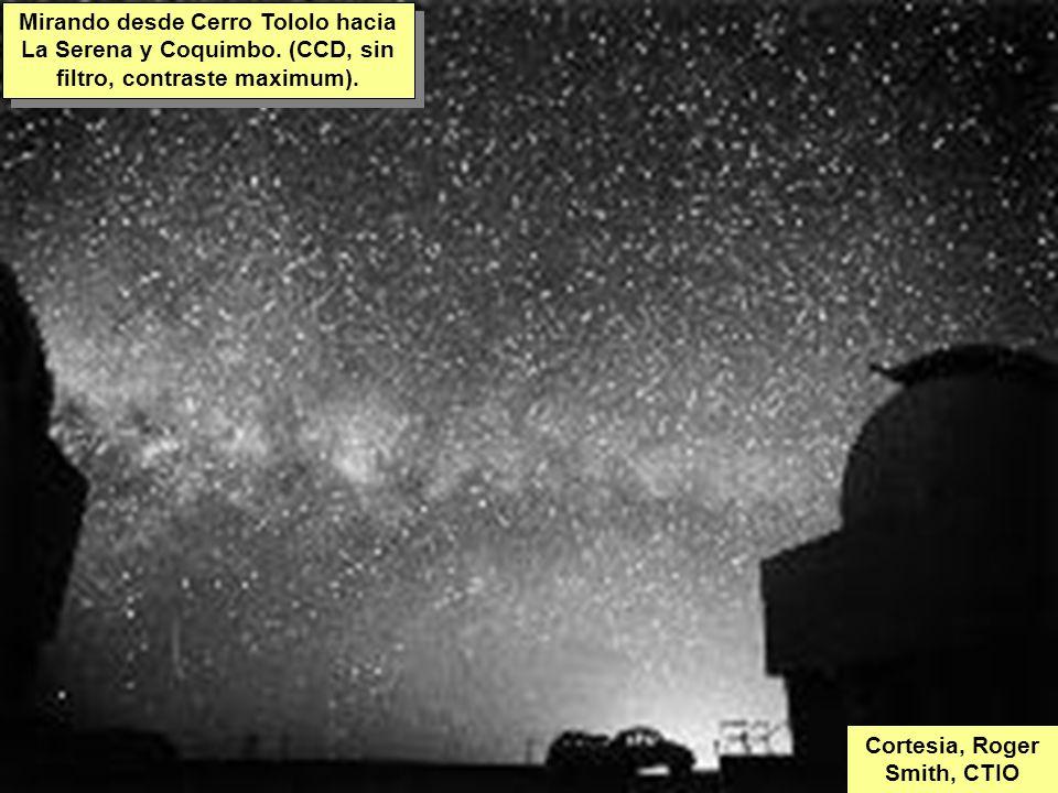 Tuesday, 7th March, 2002 IAUWG meeting, La Serena, Chile65 Mirando desde Cerro Tololo hacia La Serena y Coquimbo.