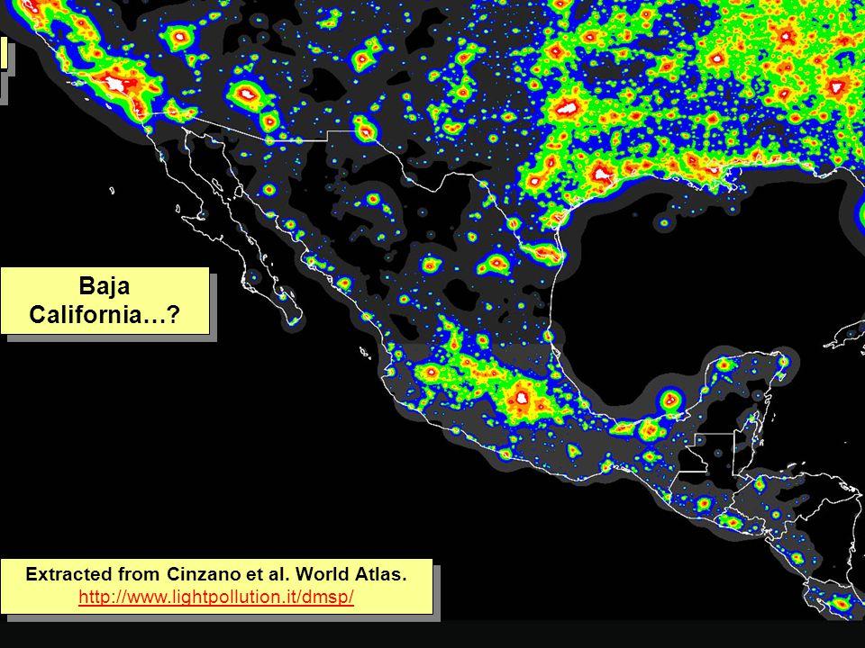 Tuesday, 7th March, 2002 IAUWG meeting, La Serena, Chile74 Baja California….