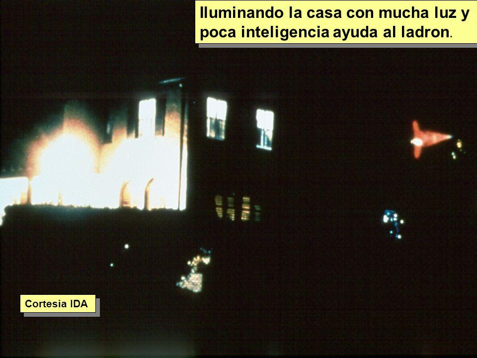Tuesday, 7th March, 2002 IAUWG meeting, La Serena, Chile82 Iluminando la casa con mucha luz y poca inteligencia ayuda al ladron.