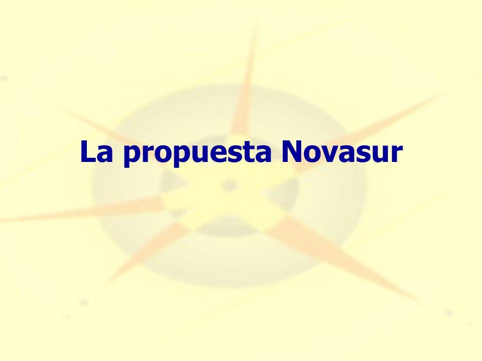 La propuesta Novasur