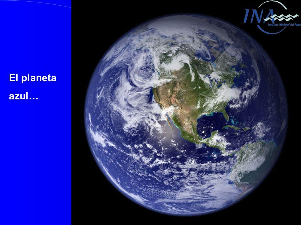El planeta azul…