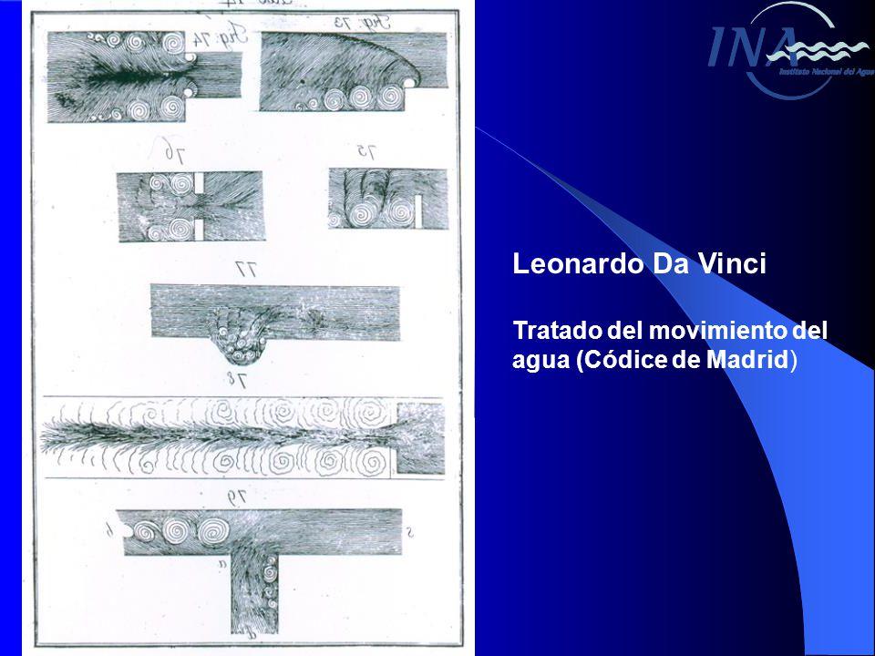 Leonardo Da Vinci Tratado del movimiento del agua (Códice de Madrid)