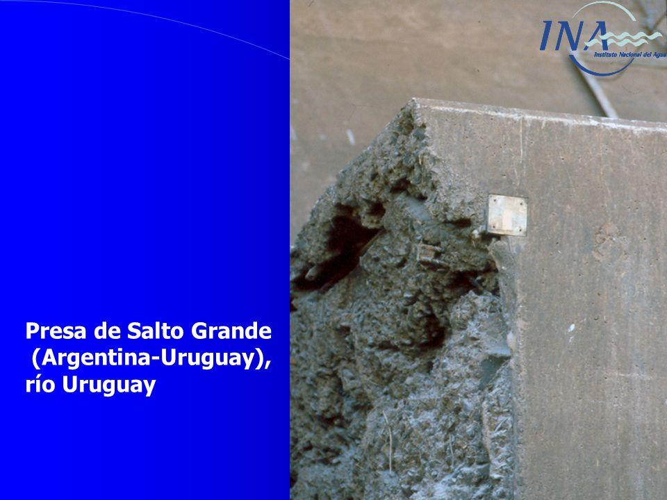 Presa de Salto Grande (Argentina-Uruguay), río Uruguay