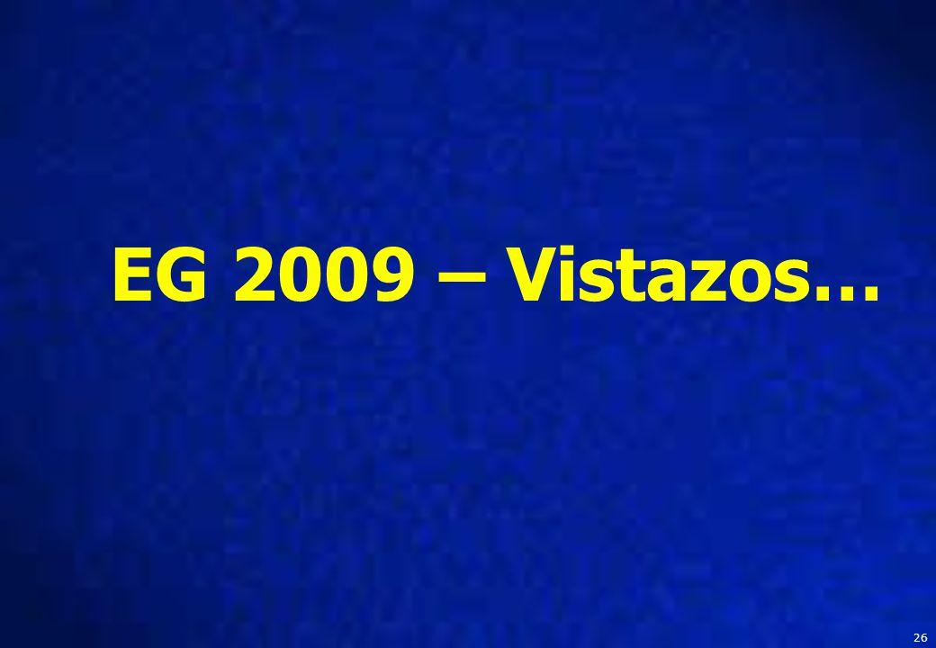 26 EG 2009 – Vistazos…
