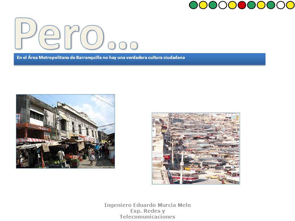 En el Área Metropolitana de Barranquilla no hay una verdadera cultura ciudadana Frente al uso del espacio urbano.