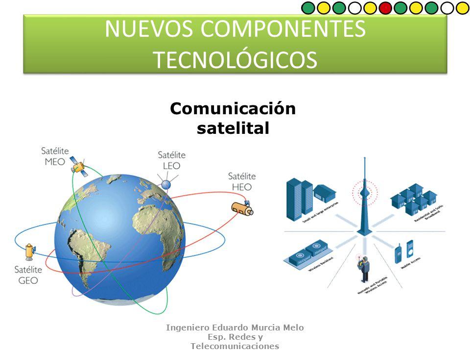 NUEVOS COMPONENTES TECNOLÓGICOS Comunicación satelital Ingeniero Eduardo Murcia Melo Esp.