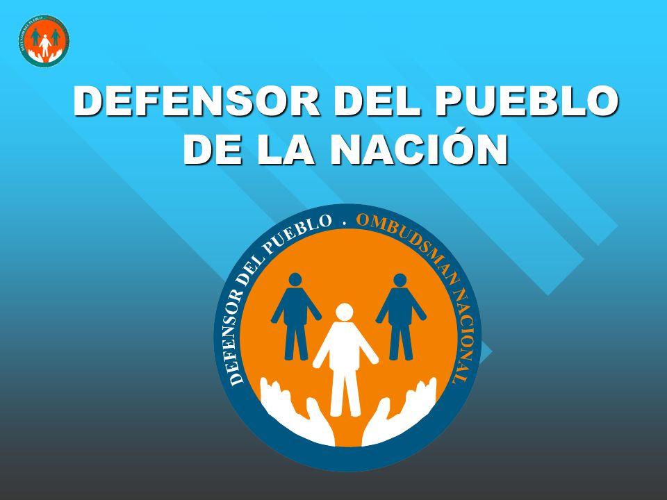 DEFENSOR DEL PUEBLO DE LA NACIÓN