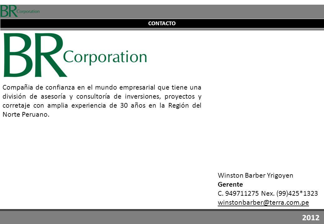 Winston Barber Yrigoyen Gerente C. 949711275 Nex.