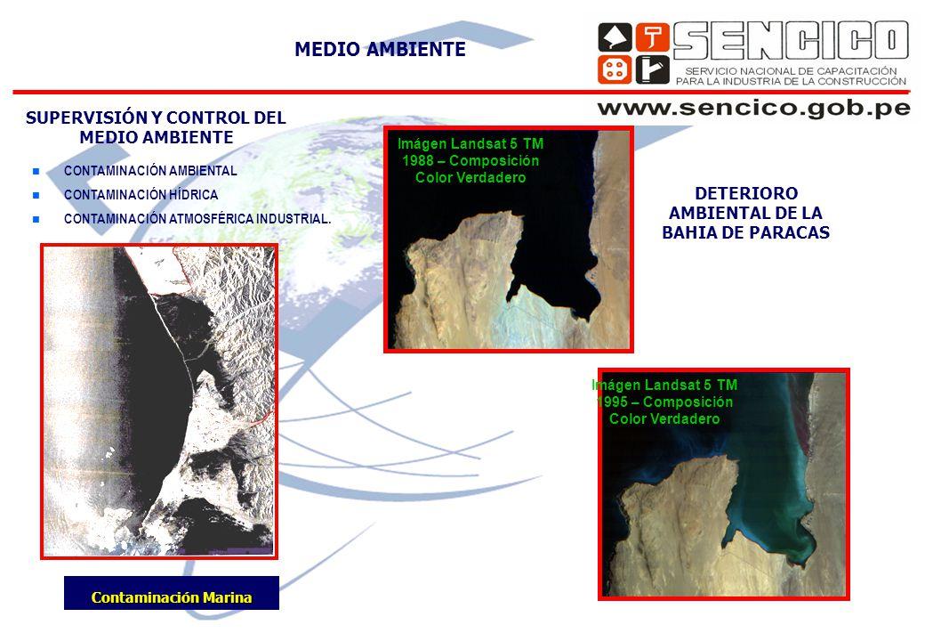 SUPERVISIÓN Y CONTROL DEL MEDIO AMBIENTE n CONTAMINACIÓN AMBIENTAL n CONTAMINACIÓN HÍDRICA n CONTAMINACIÓN ATMOSFÉRICA INDUSTRIAL.